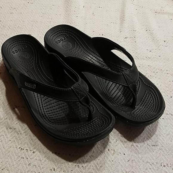 dd8605c6f52b CROCS Shoes - CROCS Ella Comfort Path Flip Flop